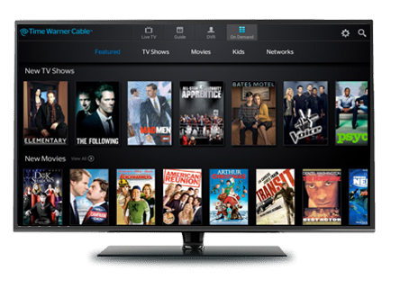 Movies dashboard by spectrum cable